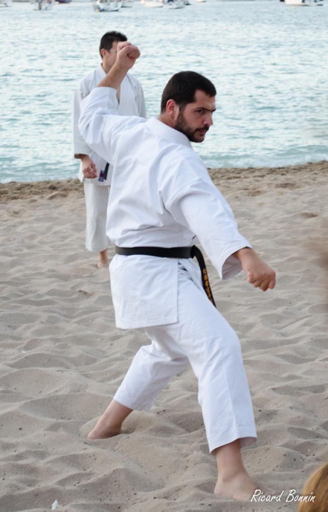 Pep Xumet, en  el Bassai Dai