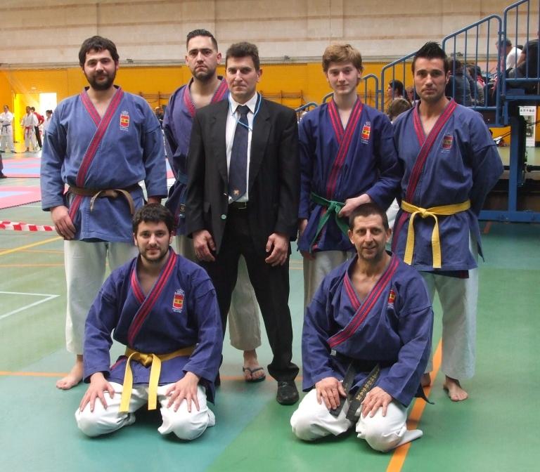 Part de la nostra representació al Campionat de Balears de Tai Jitsu 2016
