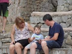 Ana, Hugo i Ricard