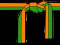 naranja verde