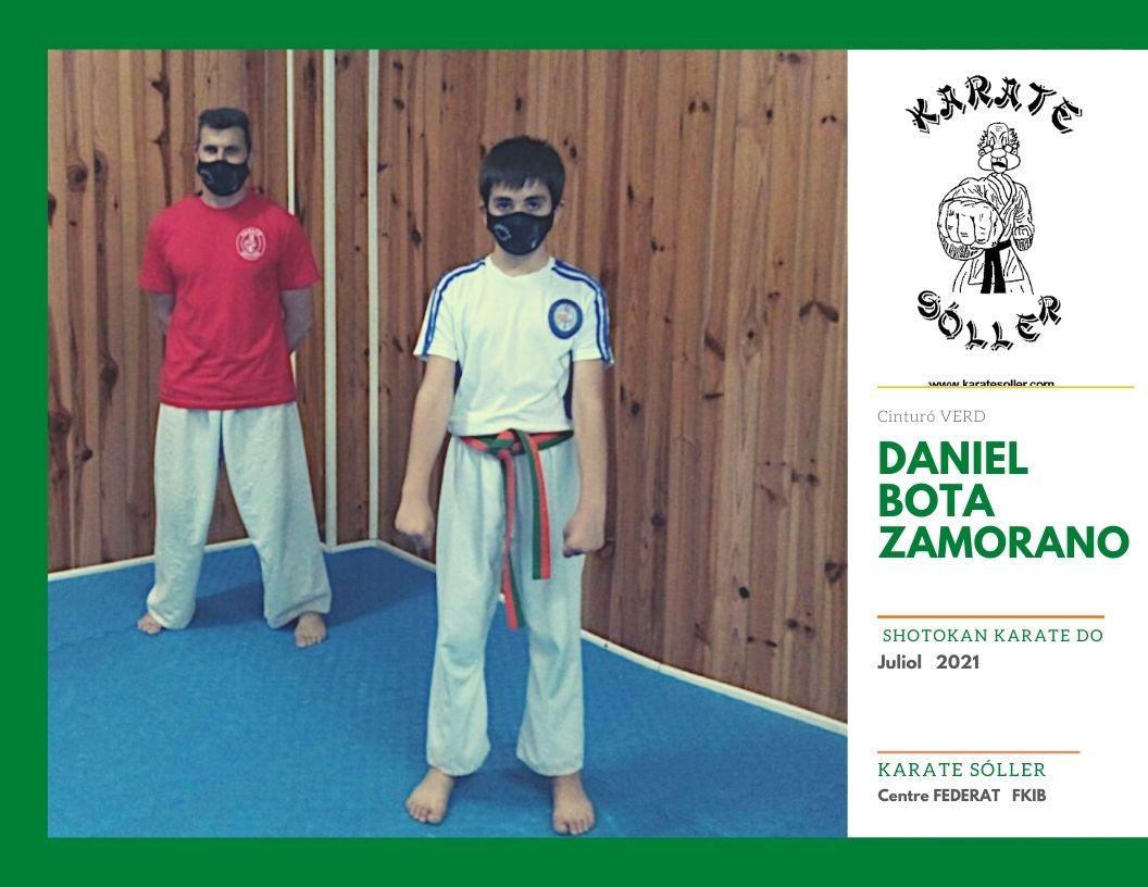 Daniel Bota Zamorano K Verd