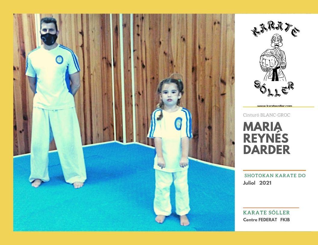 Maria Reynes Darder. Blanc-groc K